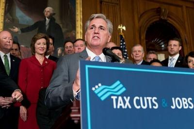U.S. House Majority Leader Kevin McCarthy. (Xinhua/Ting Shen/IANS)