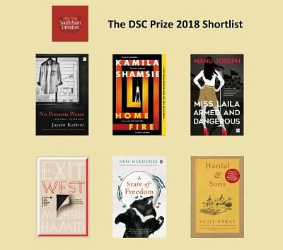 The DSC Prize 2018 Shortlist.