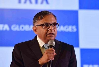 Tata Global Beverages chairman N. Chandrasekaran.(File Photo: IANS)