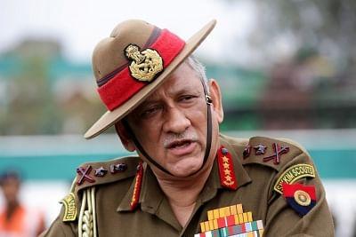 Indian Army chief General Bipin Rawat. (Photo: IANS)