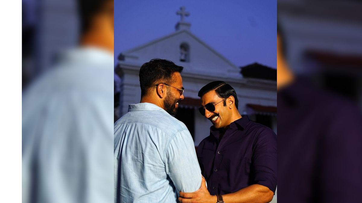 'Simmba' director Rohit Shetty and Ranveer Singh.