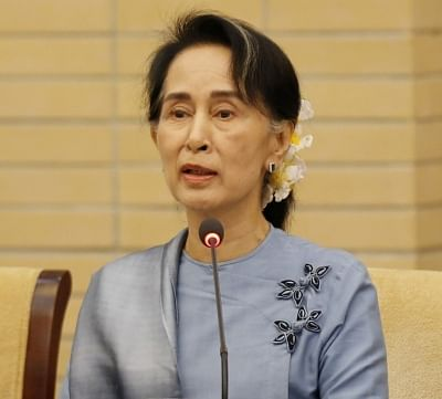 Aung San Suu Kyi. (File Photo: IANS)
