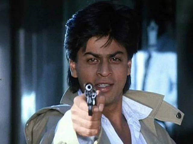 In <i>Baazigar</i>, Shah Rukh Khan plays a young man looking to avenge his father's death.