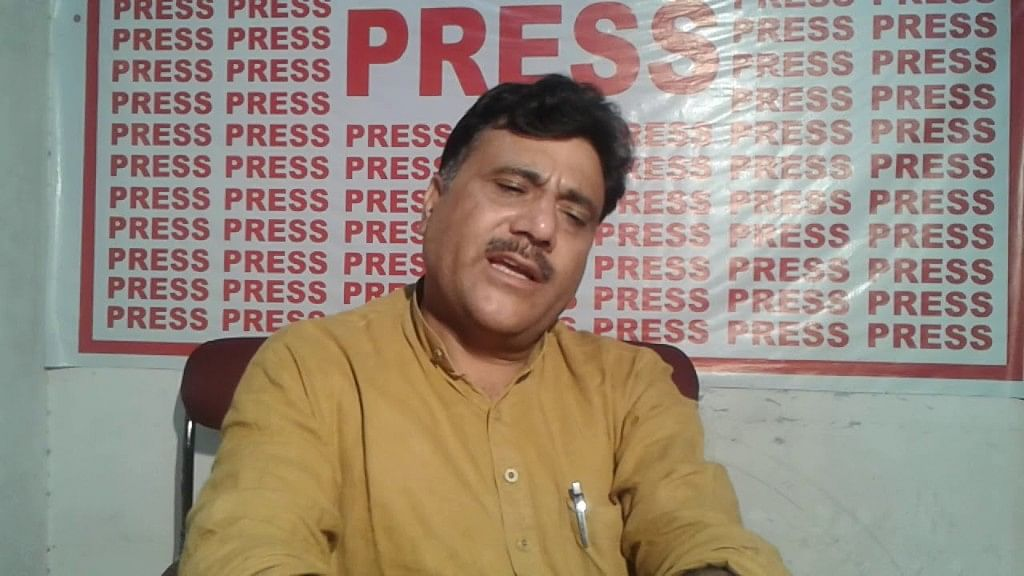 Jammu and Kashmir BJP state secretary Anil Parihar, who, along with his brother Ajeet, was killed.