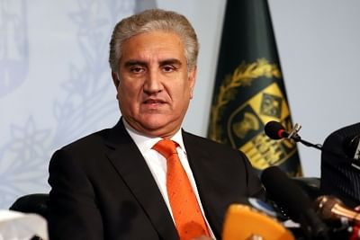 Shah Mehmood Qureshi. (File Photo: IANS)