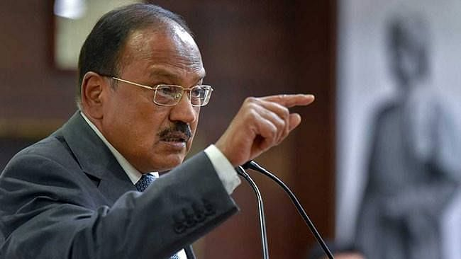 File image of Ajit Doval who will be attending the 21st Indo-China meet.