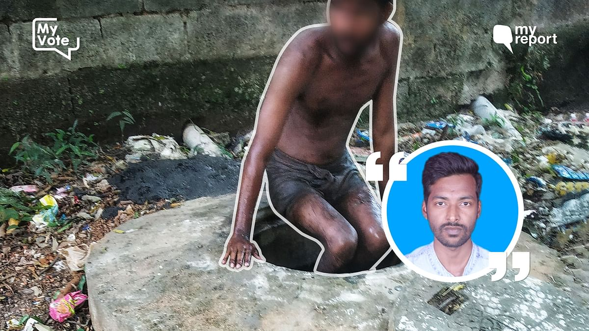 Citizen journalist Lokesh Bag's encounter with a manual scavenger in Bhubaneshwar has made him wish for an India free of such an inhuman occupation.