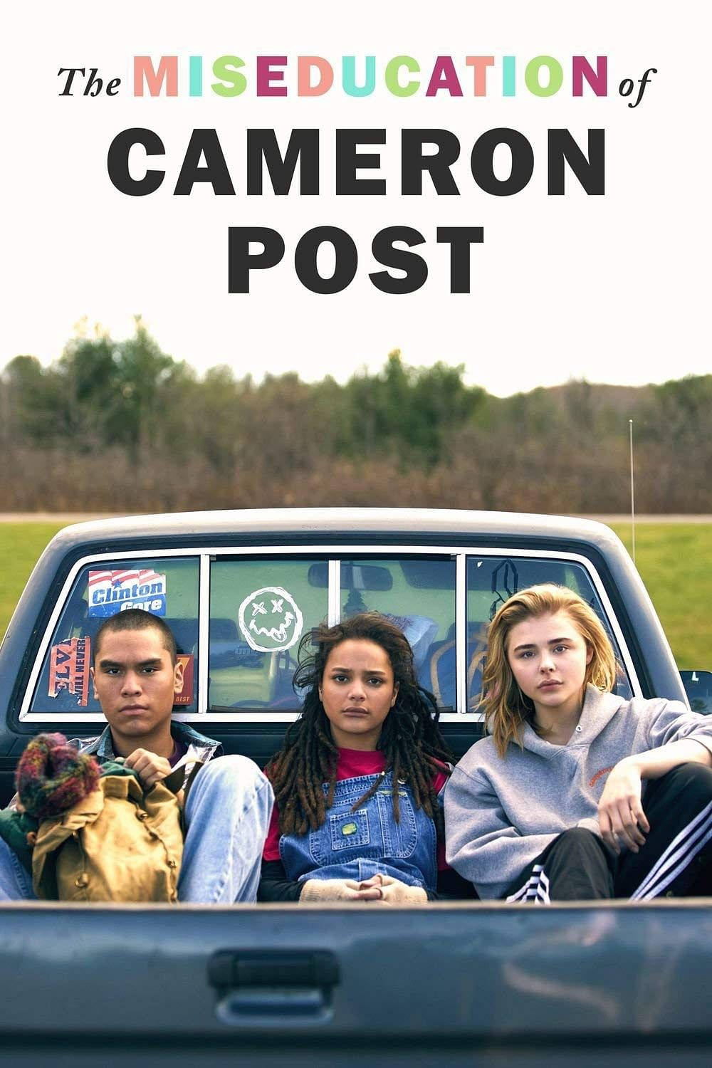 Poster of The Miseducation of Cameron Post which was alos based on the conversion therapy