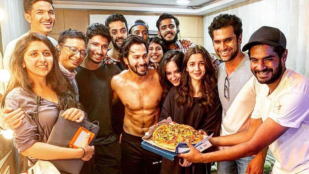 Inside Pics: Catch Varun-Alia in a Goofy Mood on 'Kalank' Sets