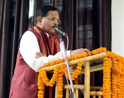 Shripad Yesso Naik. (Photo: IANS/PIB)