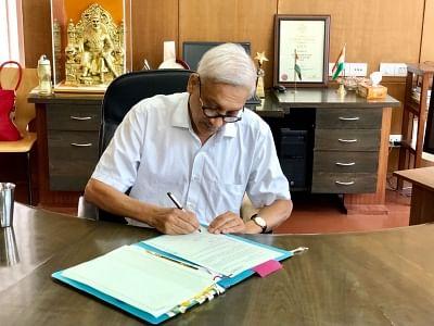 Goa Chief Minister Manohar Parrikar. (Photo: IANS)