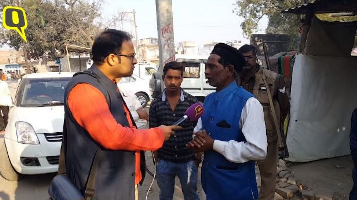 Ayodhya Muslims Fear for Their Lives:  Babri Masjid Litigant