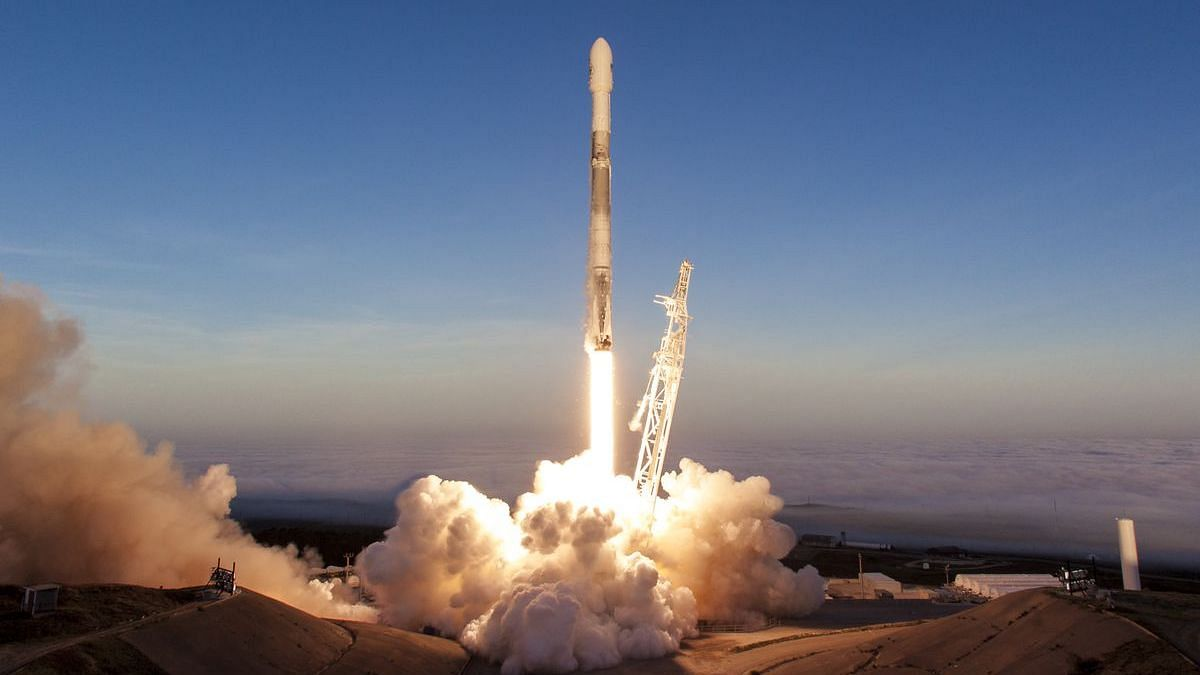 Space X will be the launch vehicle for this India-made satellite.