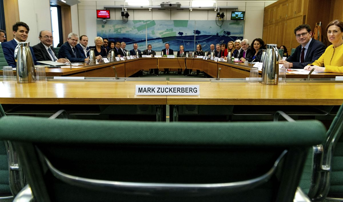 9 Nations Grill Facebook Executive As Zuckerberg Decides to Skip