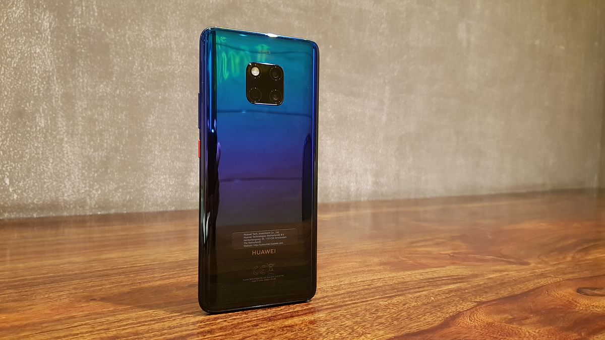 Huawei Mate 20 Pro is a high-end phone.