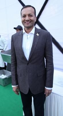 Industrialist Naveen Jindal. (Photo: IANS)