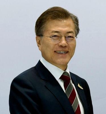 President of South Korea Moon Jae-in. (File Photo: IANS)