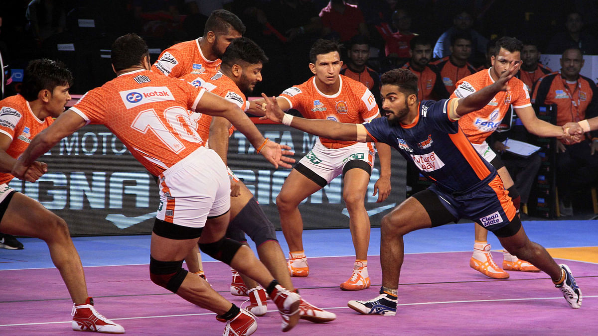 Bengal Warriors defeated Puneri Paltan 26-22 in the Inter Zone Challenge Week match of the Pro Kabaddi League.