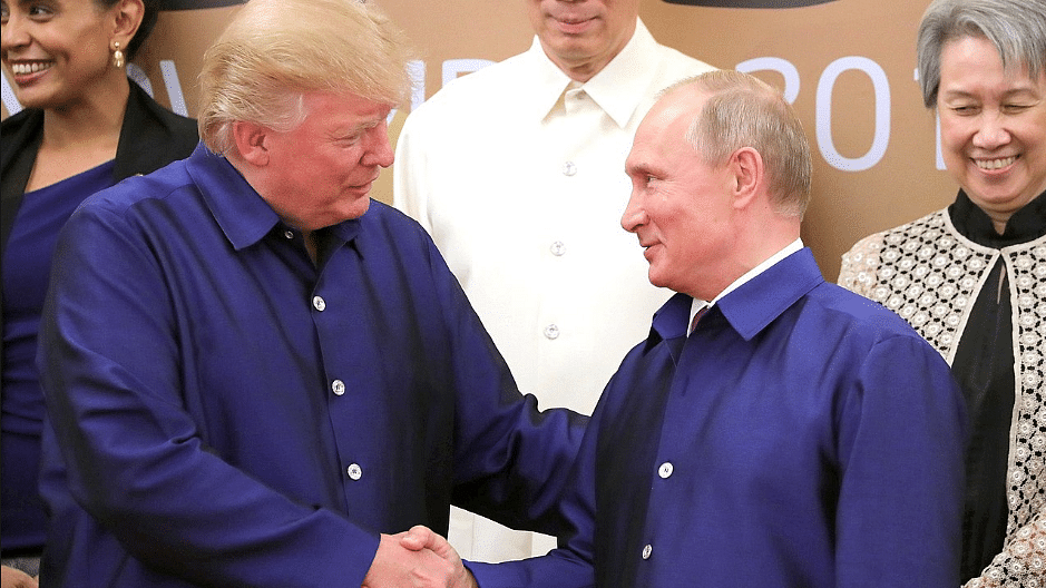 It makes sense for the United States to get along with Russia, US President Donald Trump said  on the eve of the meeting between Secretary of State Mike Pompeo and Russian President Vladimir Putin.