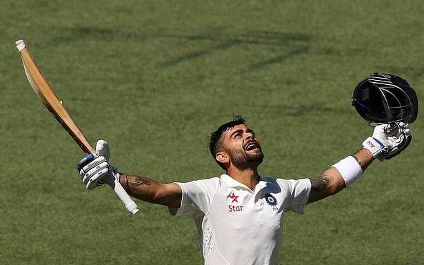 Virat Kohli scored 692 runs in four Tests, hitting four centuries, on India's tour of Australia in 2014/15.