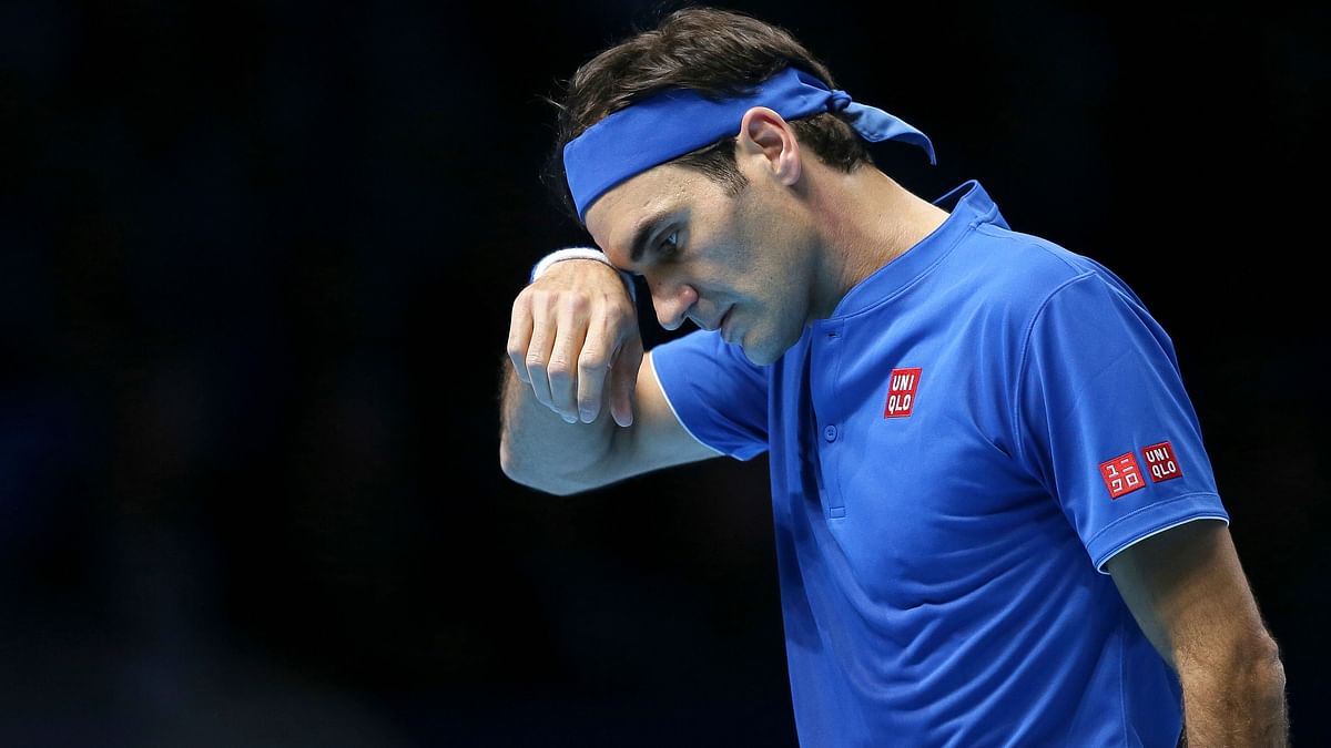 Roger Federer suffered a first opening-match defeat at the ATP Finals since 2013