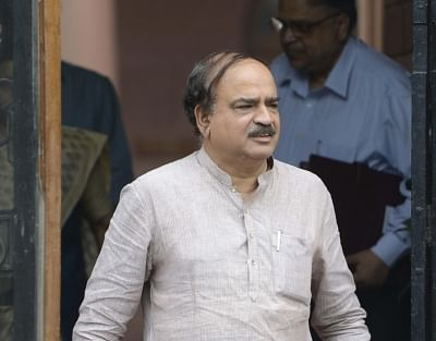 Bengaluru: Union Minister for Parliamentary Affairs Ananth Kumar who passed away at a private hospital in Bengaluru on Nov 12, 2018. He was 59. (File Photo: IANS)