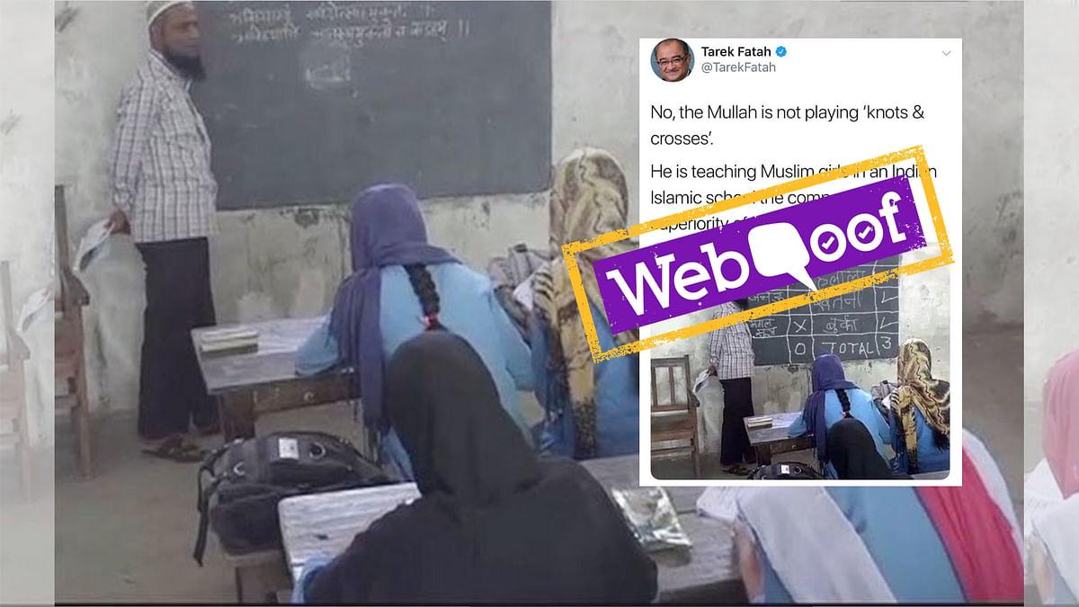 Tarek Fatah Tweets Morphed Image Again, Peddles Communal Hate