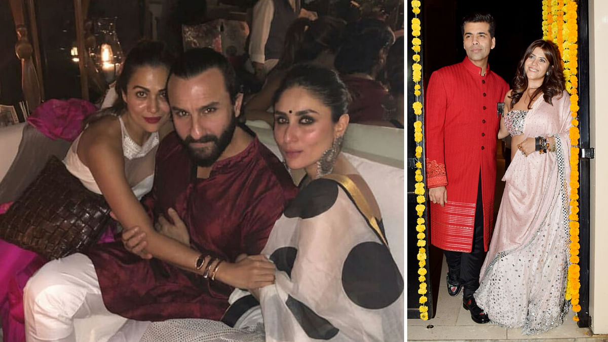 Bollywood went all out to celebrate Diwali.