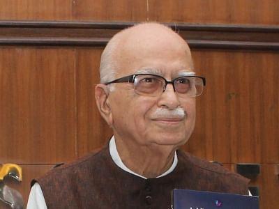 L K Advani.
