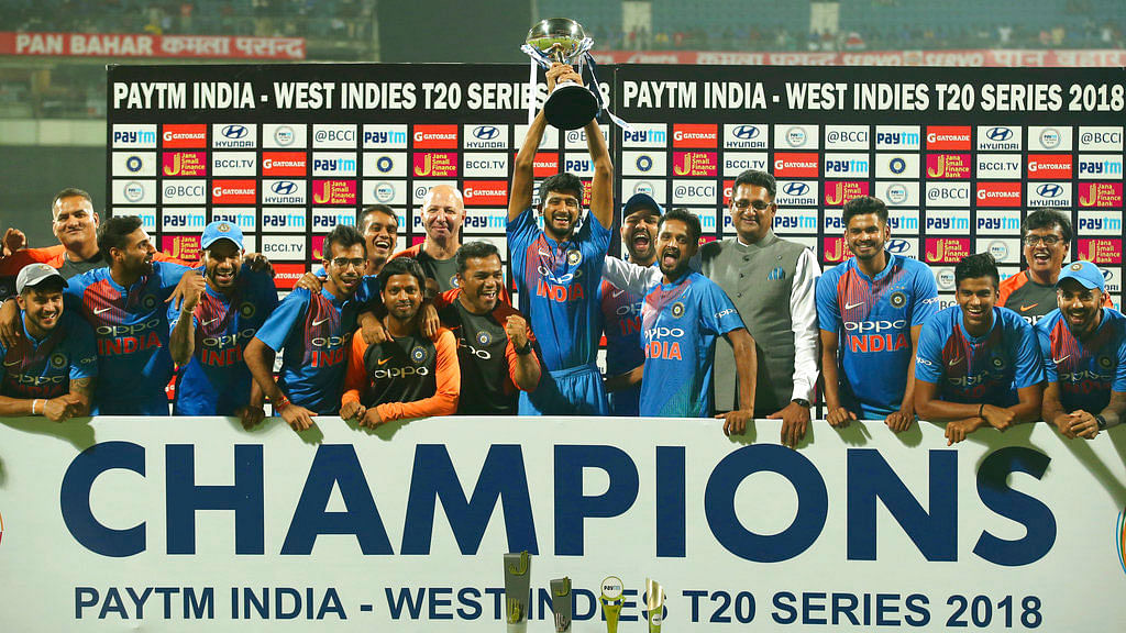 India Win Last-Ball Thriller vs Windies to Clinch T20I Series 3-0