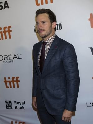 Actor Chris Pratt. (File Photo: IANS)