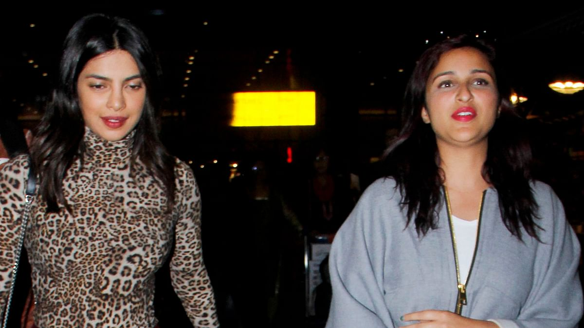 Priyanka Chopra returns to India after time in NY and Amsterdam.