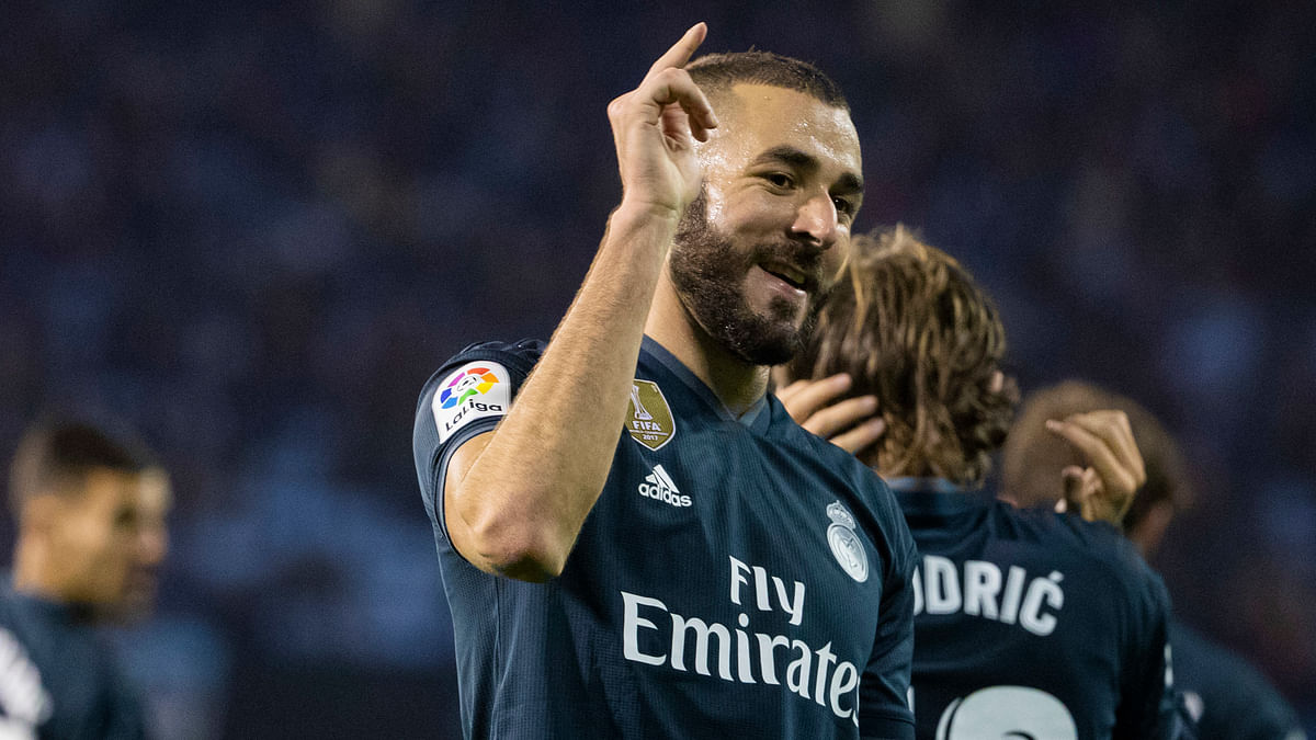 Karim Benzema made an unflattering comment about fellow forward Olivier Giroud, comparing himself to a Formula One car and his former France teammate to a go-kart.