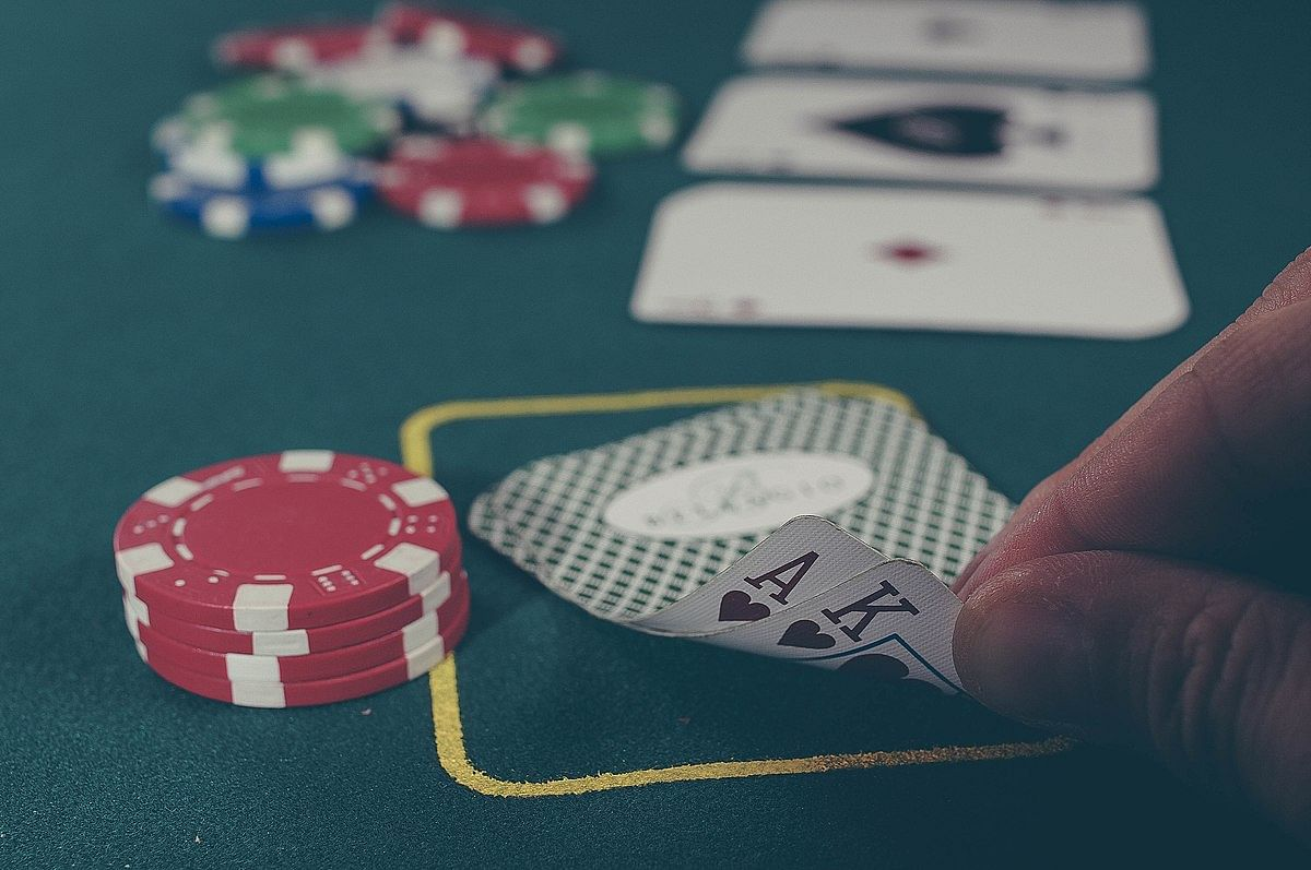 Representational image of a poker game.