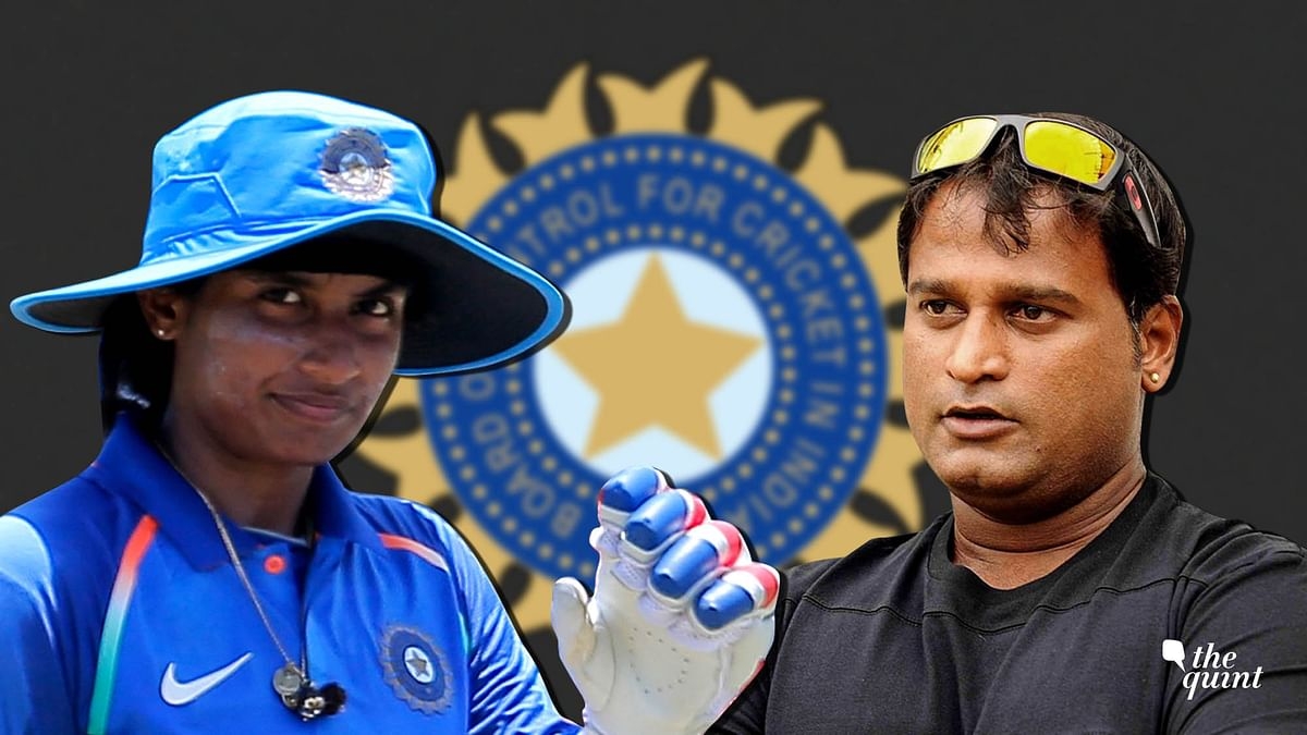 """<div class=""""paragraphs""""><p>Mithali Raj and Ramesh Powar were embroiled in a controversy after Raj was dropped from the Indian team for the Women's World T20 semi-final against England.</p></div>"""