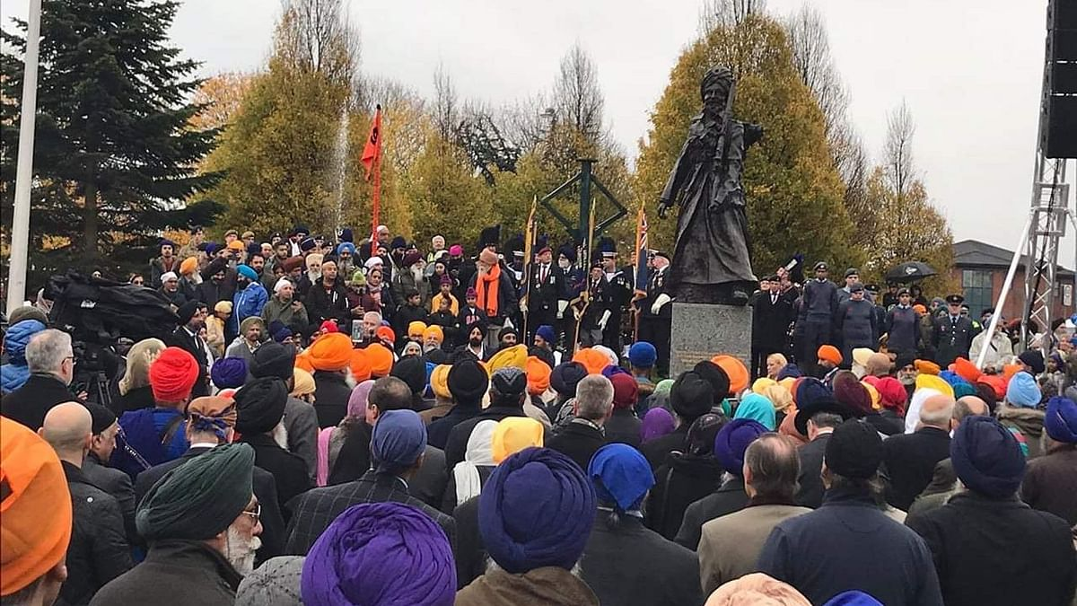 Memorial honours Singhs of the Great War with a 10-foot high bronze statue of a First World War Sikh soldier.