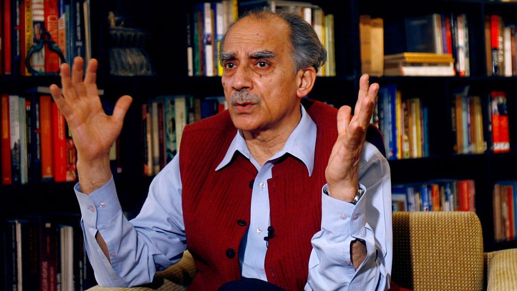 Former Union Minister Arun Shourie.
