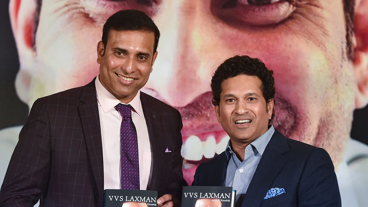 File photo of VVS Laxman (Left) and Sachin Tendulkar (Right).
