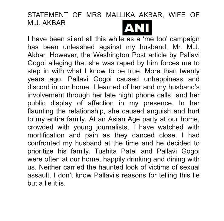 Relationship Based on Coercion Not Consent: Gogoi on MJ Akbar