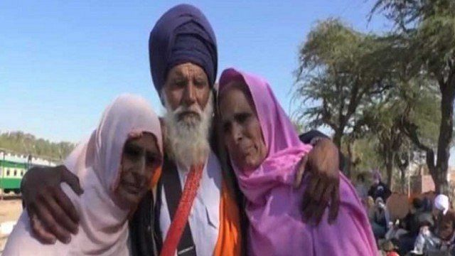 Sikh Man Meets His Muslim Sisters For the First Time Since 1947