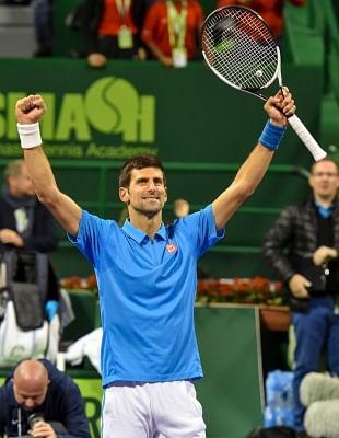 Serbian tennis player Novak Djokovic. (File Photo: IANS)