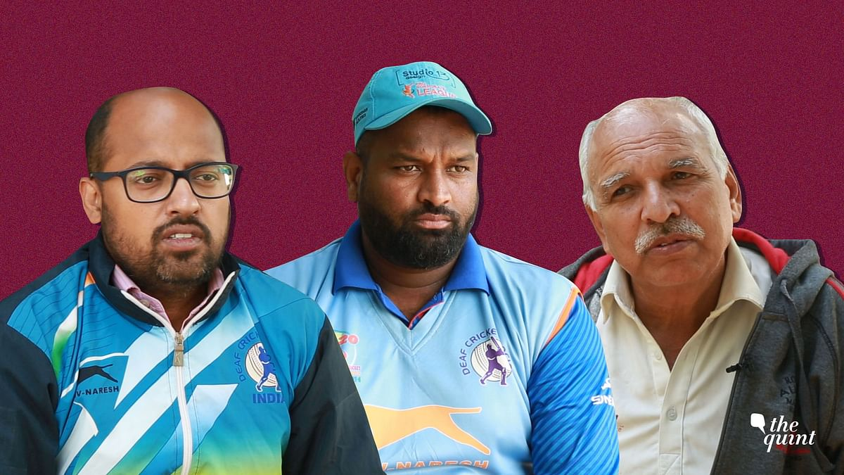 General Secretary of DCS Sumit Jain, Indian Deaf Cricket Team's fast bowler Fahimuddin and supporter of DCS KK Saini speak to The Quint about the growth of deaf cricket in India.