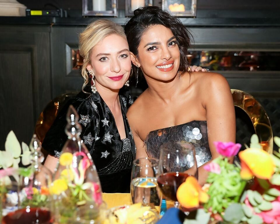 """We sat next to each other at another Bumble dinner and [Priyanka] was like, 'Why don't we take this to India?"" said Whitney Wolfe Herd."