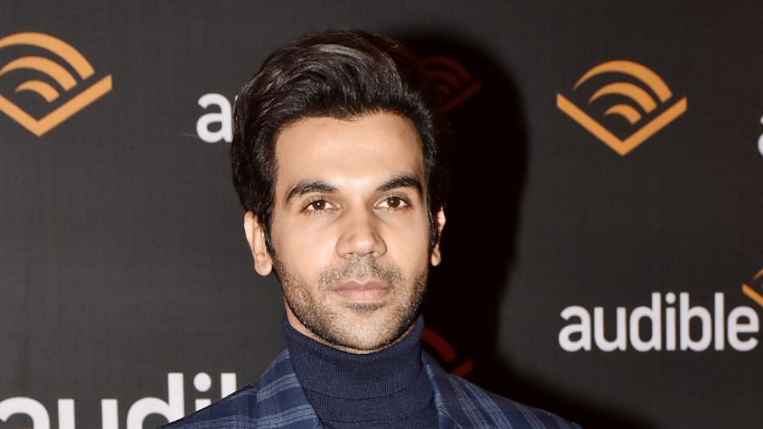 Rajkummar Rao at the launch of Audible in India.