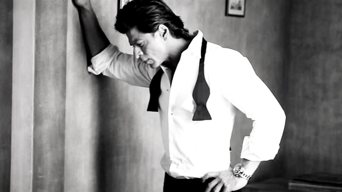 Rediscovering Shah Rukh Khan.