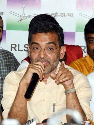 Union MoS HRD Upendra Kushwaha. (Photo: IANS)
