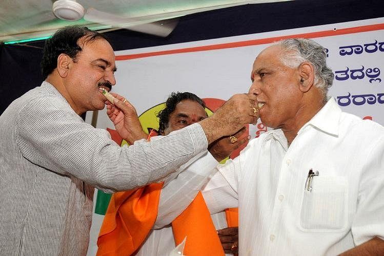Ananth Kumar & BS Yeddyurappa