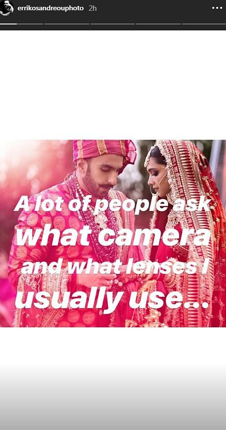 What's The Secret Sauce Behind The Deepika-Ranveer Wedding Photos