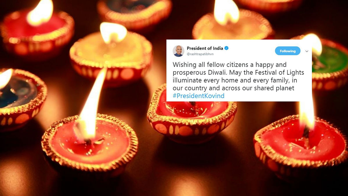 From PM Modi to Rahul Gandhi, leaders across the political spectrum extended Diwali greetings to the nation.