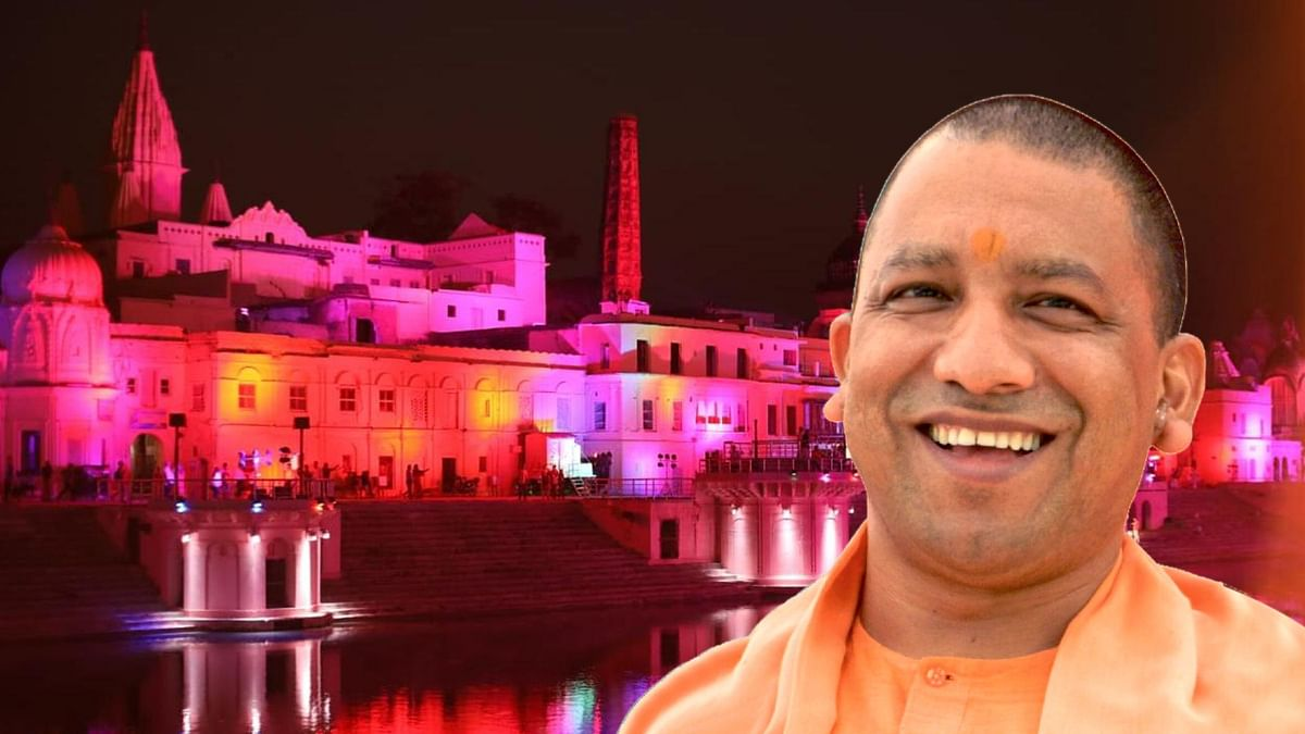 'Faizabad to Be Renamed Ayodhya': UP CM Yogi at Diwali Event